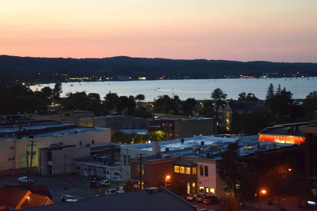 Downtown Traverse City at Night on Day 1 of the 2015 Michi…   Flickr