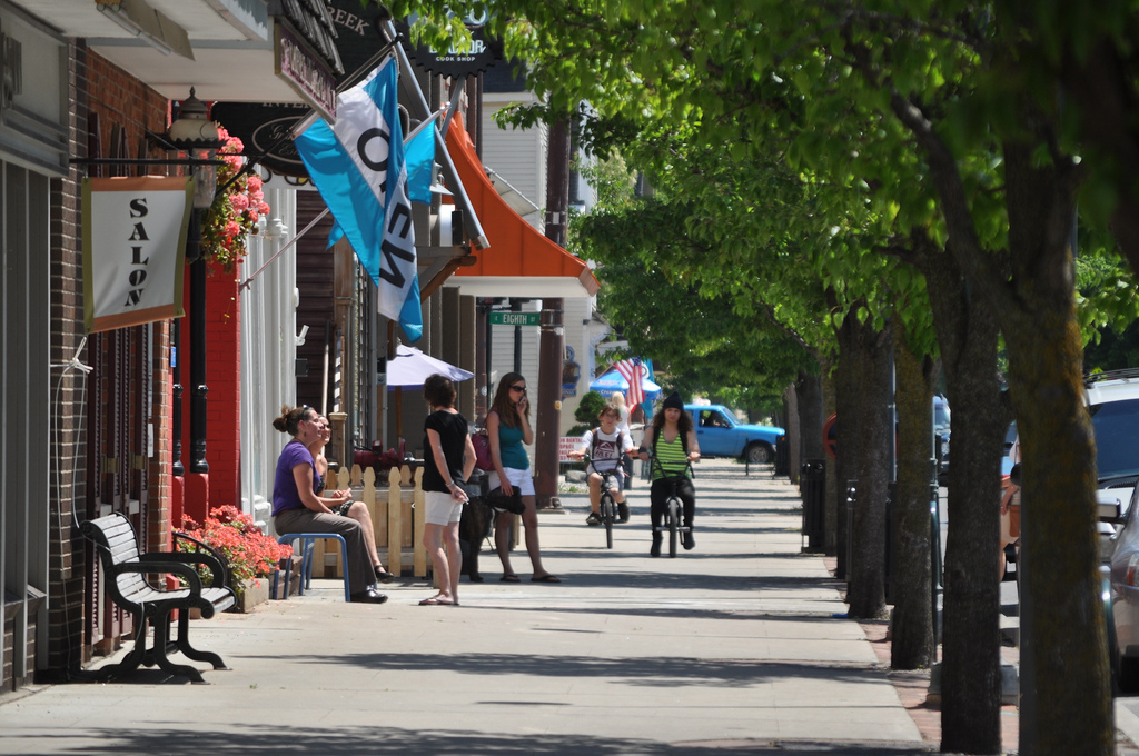 Old Town Traverse City Walkability Physical Design Preserv… | Flickr
